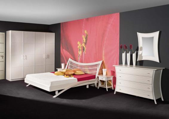 Спальный гарнитур Ласточка из ротанга 1156