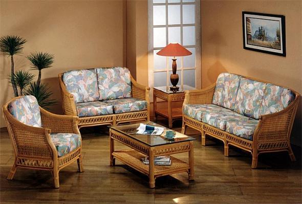 Мягкая мебель Президент из ротанга SET6