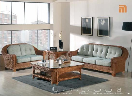 Мягкая мебель Салютер из ротанга SET8