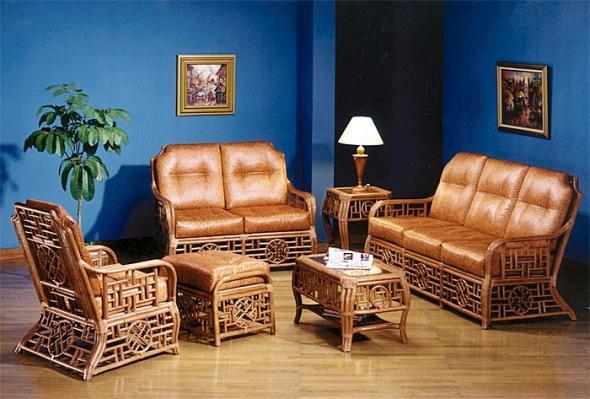 Мягкая мебель Сонет из ротанга SET11
