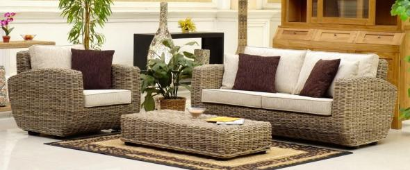 Мягкая мебель Жанна из ротанга SET16