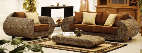 Мягкая мебель Нино из ротанга SET17