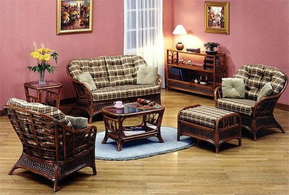 Мягкая мебель Вальс из ротанга SET22