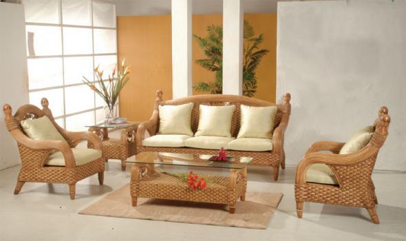 Мягкая мебель Арсен из ротанга SET23