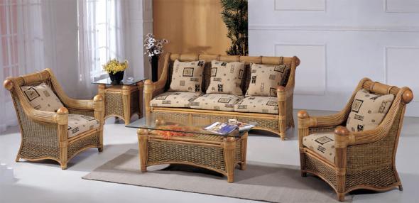 Мягкая мебель Майя из ротанга SET27