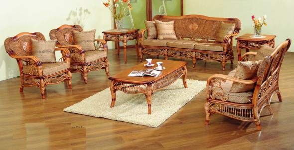 Мягкая мебель Антонина из ротанга SET31