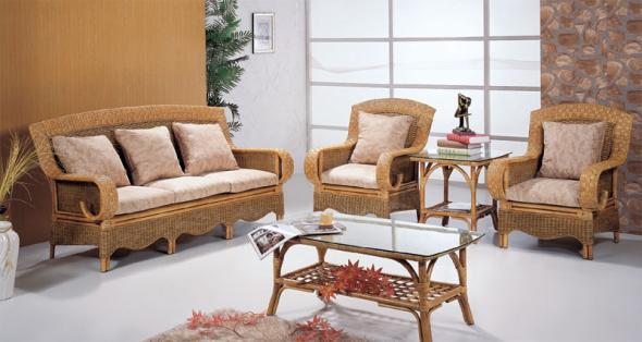 Мягкая мебель Сантана из ротанга SET33