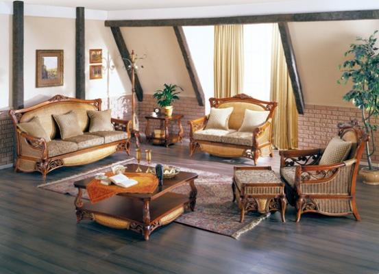 Мягкая мебель Силуэт из ротанга SET35