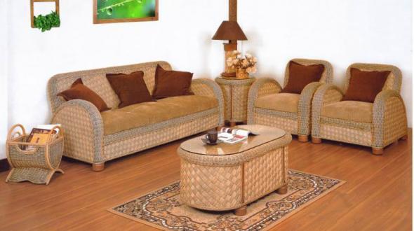Мягкая мебель Милена из ротанга SET38