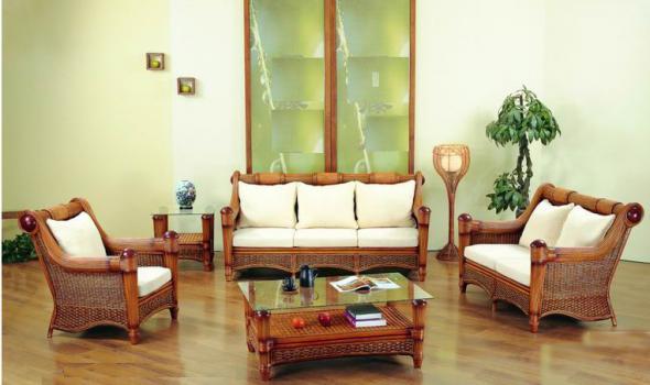 Мягкая мебель Ева из ротанга SET42