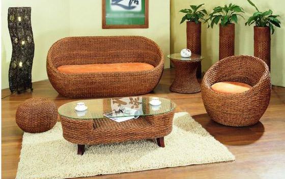 Мягкая мебель Бэлла (Вальс) из ротанга SET45