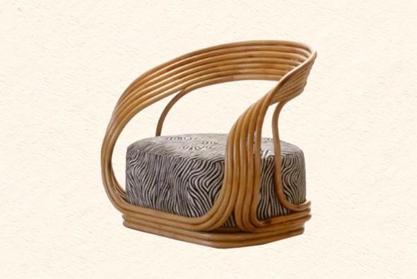 Кресло Дионис из ротанга AR7