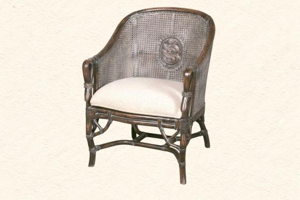 Кресло Фиона из ротанга AR10