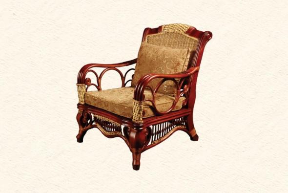 Кресло Президент из ротанга AR20