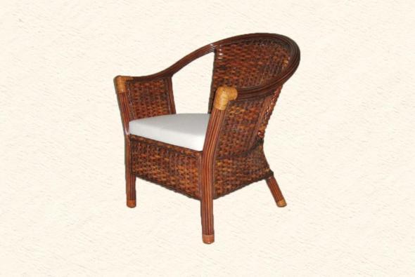 Кресло Экзотик из ротанга AR23