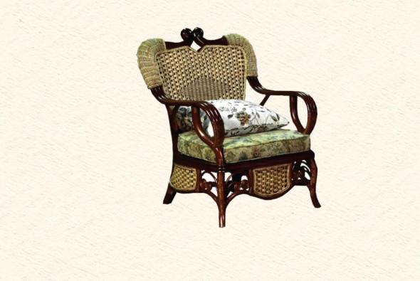 Кресло Восторг из ротанга SET54-1