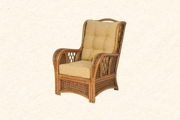 Кресло Граф из ротанга SET75-5