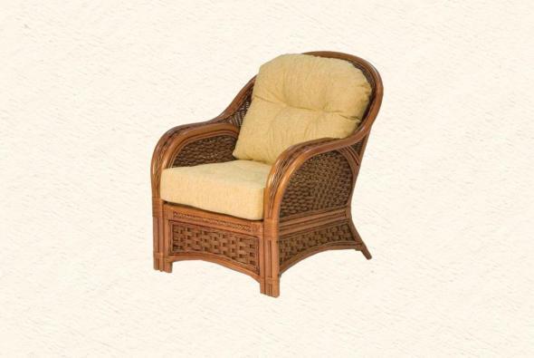Кресло Альянс из ротанга SET76-1