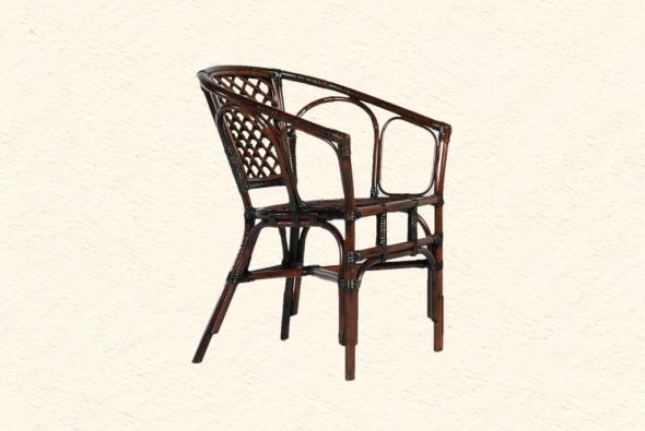 Кресло Феодора из ротанга AR35