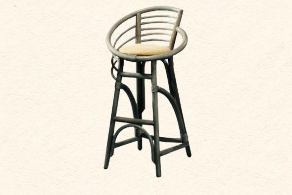 Барный стул Аида из ротанга B13