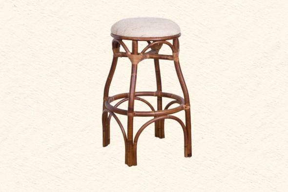 Барный стул Сюзанна из ротанга B15