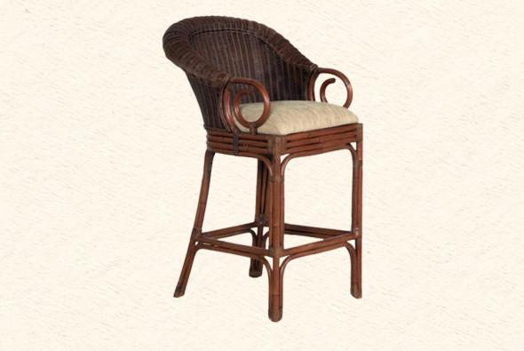 Барный стул Яна из ротанга B16