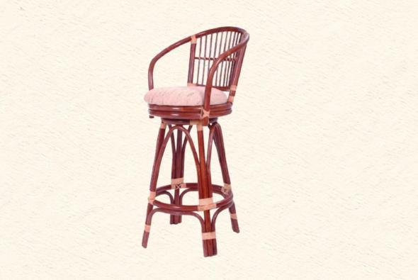 Барный стул Пальмира из ротанга B1