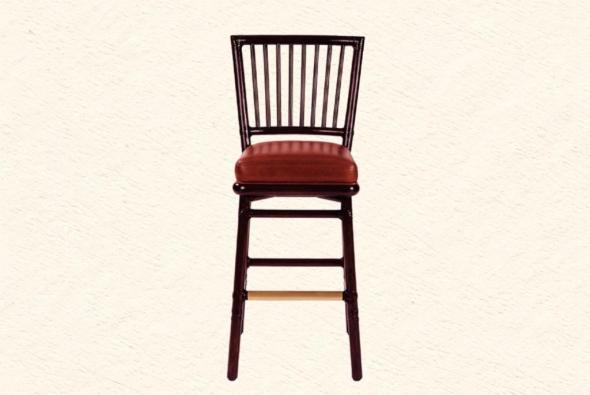 Барный стул Зевс из ротанга B12