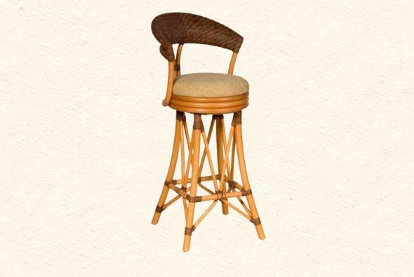 Барный стул Асен из ротанга B11