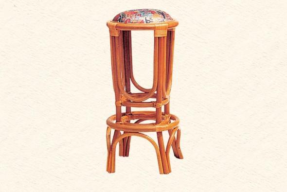 Барный стул Диего из ротанга B9