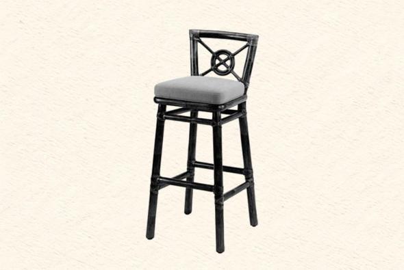 Барный стул Джузеппе из ротанга B8