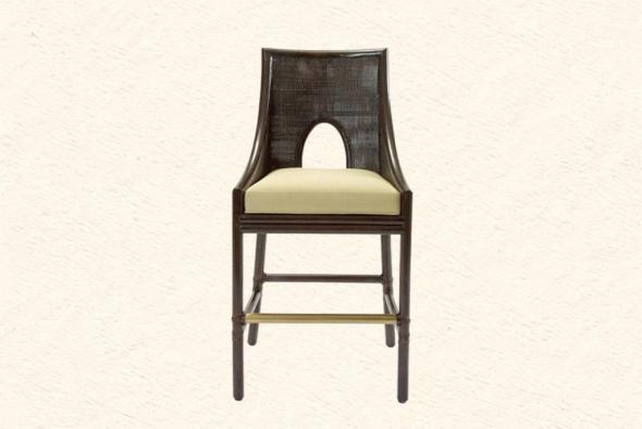 Барный стул Каравелла из ротанга B7