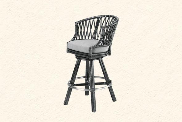 Барный стул Анюта из ротанга B5