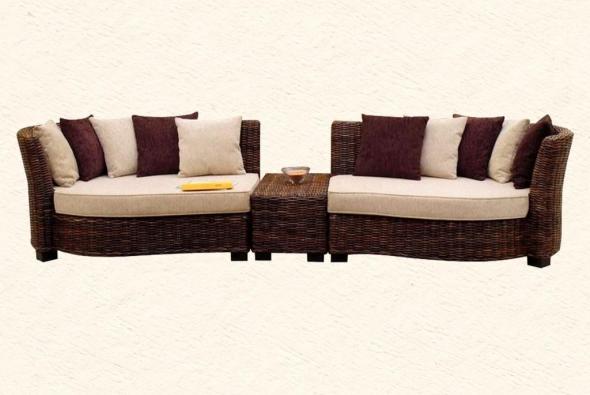 Мягкая мебель Аркадия из ротанга SET51