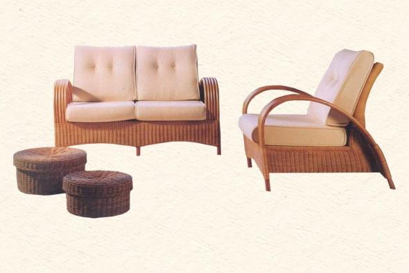 Мягкая мебель Соло из ротанга SET58