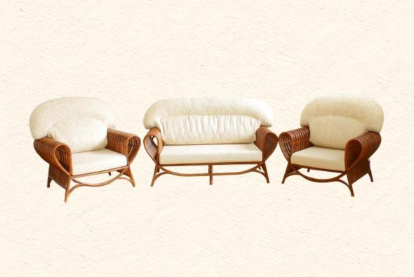 Мягкая мебель Роза из ротанга SET59