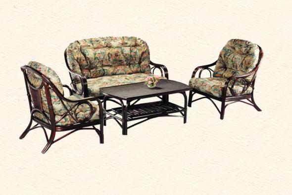 Мягкая мебель Шейла из ротанга SET62
