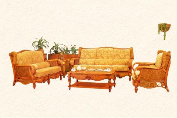 Мягкая мебель Колибри из ротанга SET63