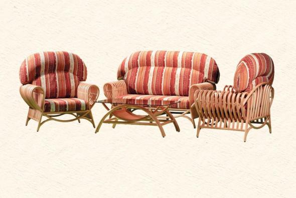 Мягкая мебель Мэджик из ротанга SET64