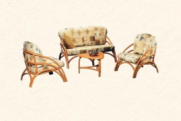 Мягкая мебель Бостон из ротанга SET65
