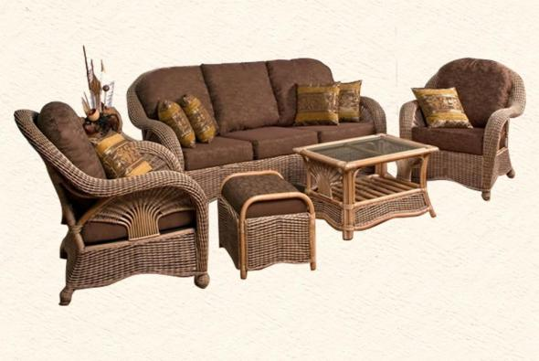 Мягкая мебель Кассель из ротанга SET71