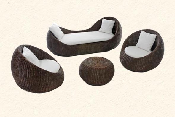 Мягкая мебель Богемия из ротанга SET72