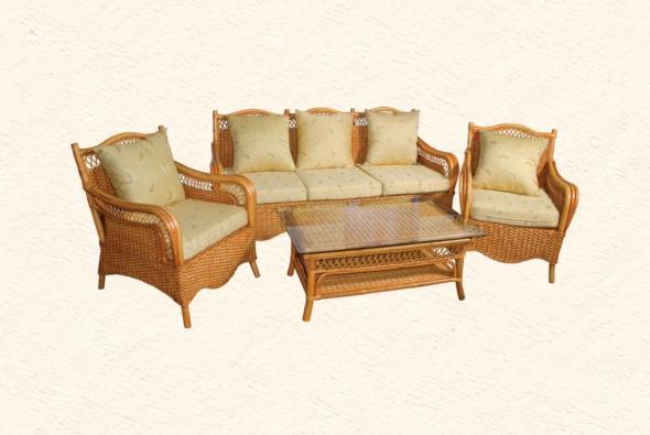 Мягкая мебель Простор из ротанга SET74