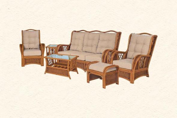 Мягкая мебель Граф из ротанга SET75