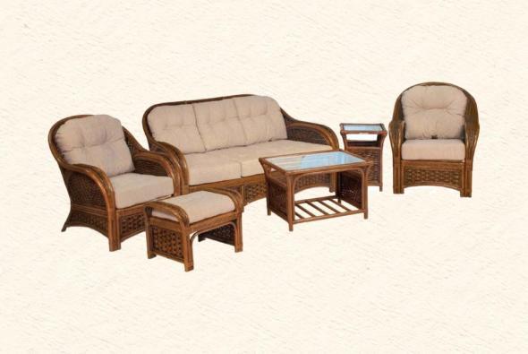 Мягкая мебель Альянс из ротанга SET76