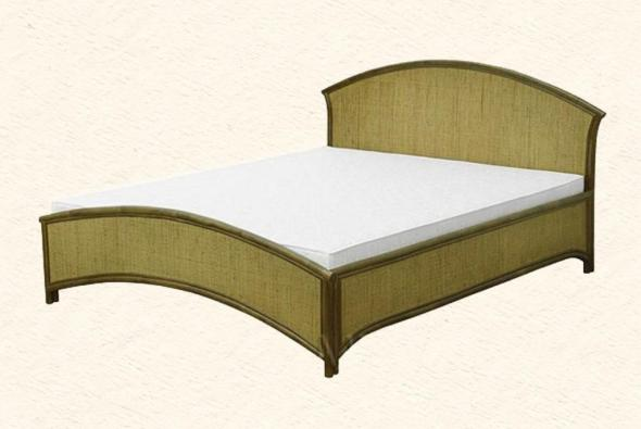 Кровать Алабама из ротанга BDS19