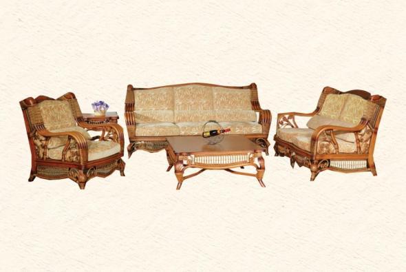 Мягкая мебель Браво из ротанга SET80