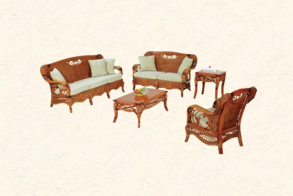 Мягкая мебель Дарио из ротанга SET81