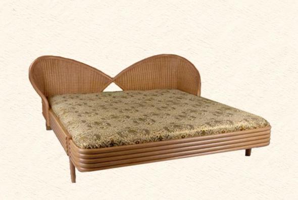 Кровать Виргиния из ротанга BDS24