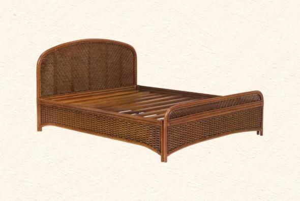 Кровать Малага из ротанга BDS26
